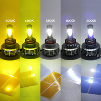 CO LIGHT 1 Pair Car Light Source H4 Led Bulb With High Low H7 H11 9006