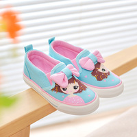 2017 yeeshow Детская обувь, парусиновая обувь для девочек, без застежки обувь для детей, принцесса детей Обувь для девочек, Tenis Infantil, обувь для дево...