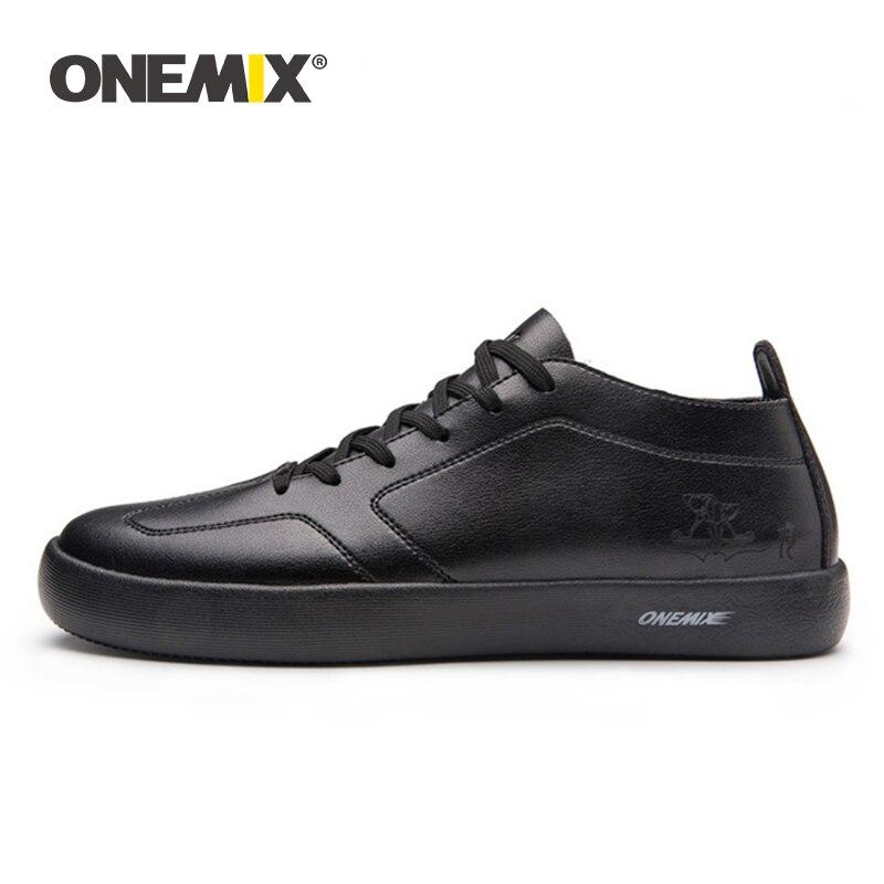 ONEMIX Hot 2019 Men Skateboarding Shoes Light Cool Sneakers Sport Outdoor Men Shoes Outdoor Walking Size 39-45