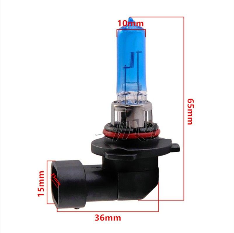 9006 HB4 55W halogén izzók szuperfehér fényszórók ködlámpa - Autó világítás - Fénykép 4