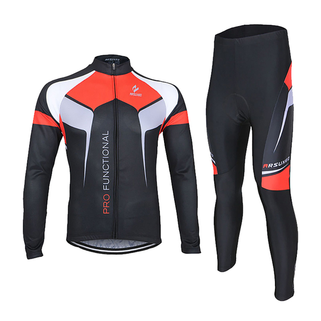 Men Cycling Jacket Sets Suits Windproof Breathable Spring and Autumn Cycling Jersey Sets Coat MTB Bike Bicycle Clothing