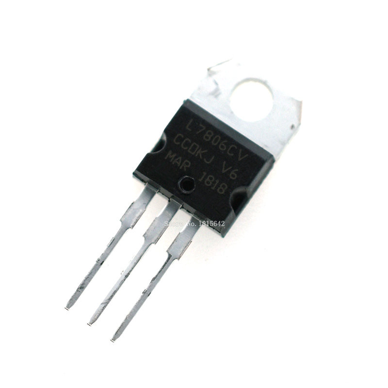 10PCS Transistor Voltage Regulator L7805 L7806 L7808 L7809 L7810 L7812 L7815 L7818 L7824 LM317T L7805CV L7812CV TO-220 Triode