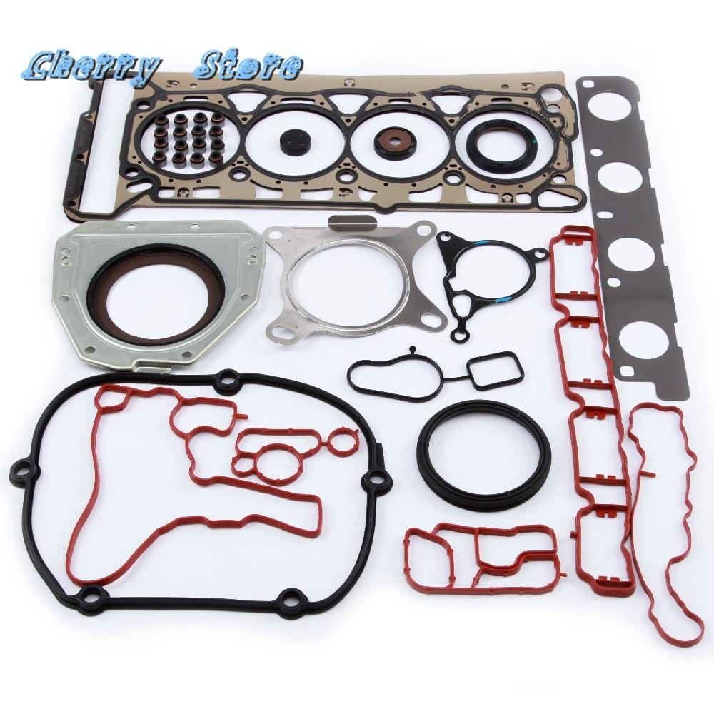 NEW 06J 103 383 D Engine Cylinder Head Gasket Oil Seal Repair Auto Kit For VW Golf Passat Audi A3 A4 A6 Q5 EA888 2.0T 06J117070C