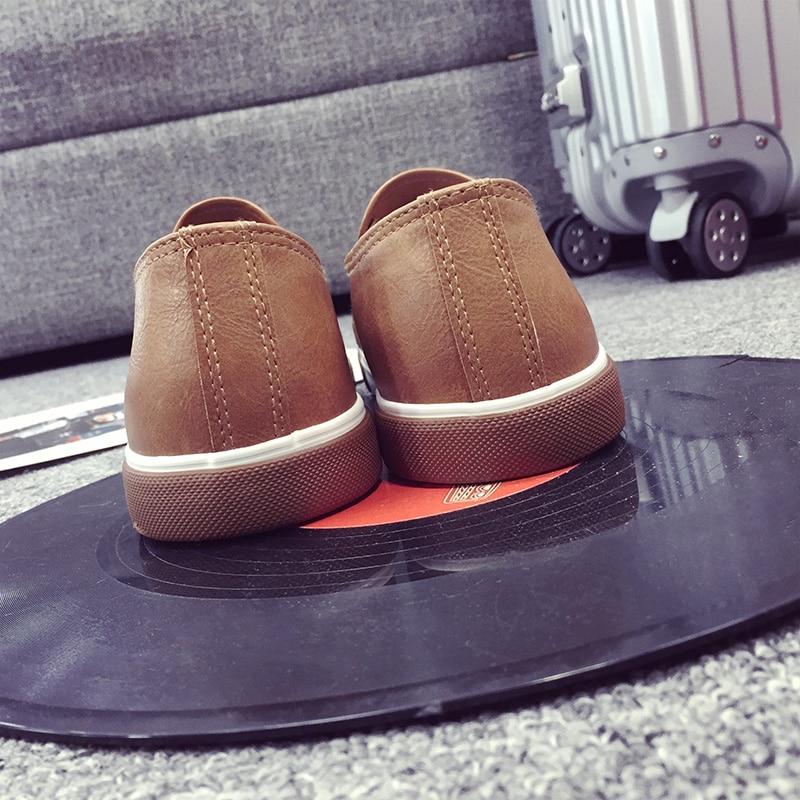 ZYYZYM Модни обувки за мъже Пролет лято Pu - Мъжки обувки - Снимка 5
