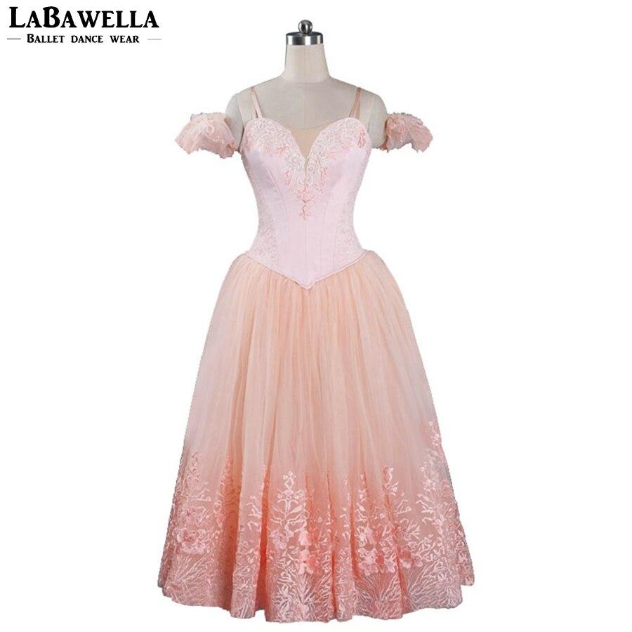 Tutu professionnel Costumes danse Tutu robe BT9089 femmes romantique Ballet Tutu robe rose ballerine Tutus Ballet filles