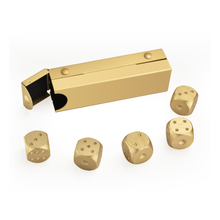 Dice Shaped Whiskey Cooling Stones