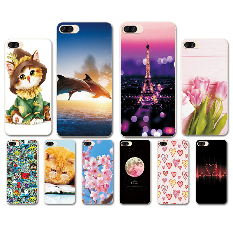 Case For Asus Zenfone 4 Max ZC520KL Soft TPU Silicon Heart Cover FOR Zenfone 4 MAX ZC520KL <font><b>ZC520</b></font> <font><b>KL</b></font> X00HD Protect Case5.2