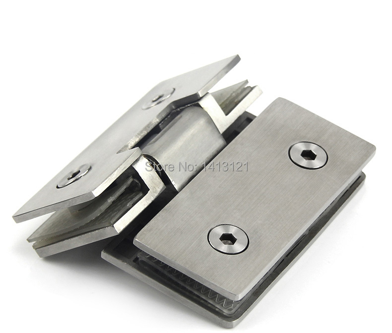 free shipping Stainless steel glass door hinge bathroom clip shower room hinge glass clamp household hardware 135-degree hingefree shipping Stainless steel glass door hinge bathroom clip shower room hinge glass clamp household hardware 135-degree hinge