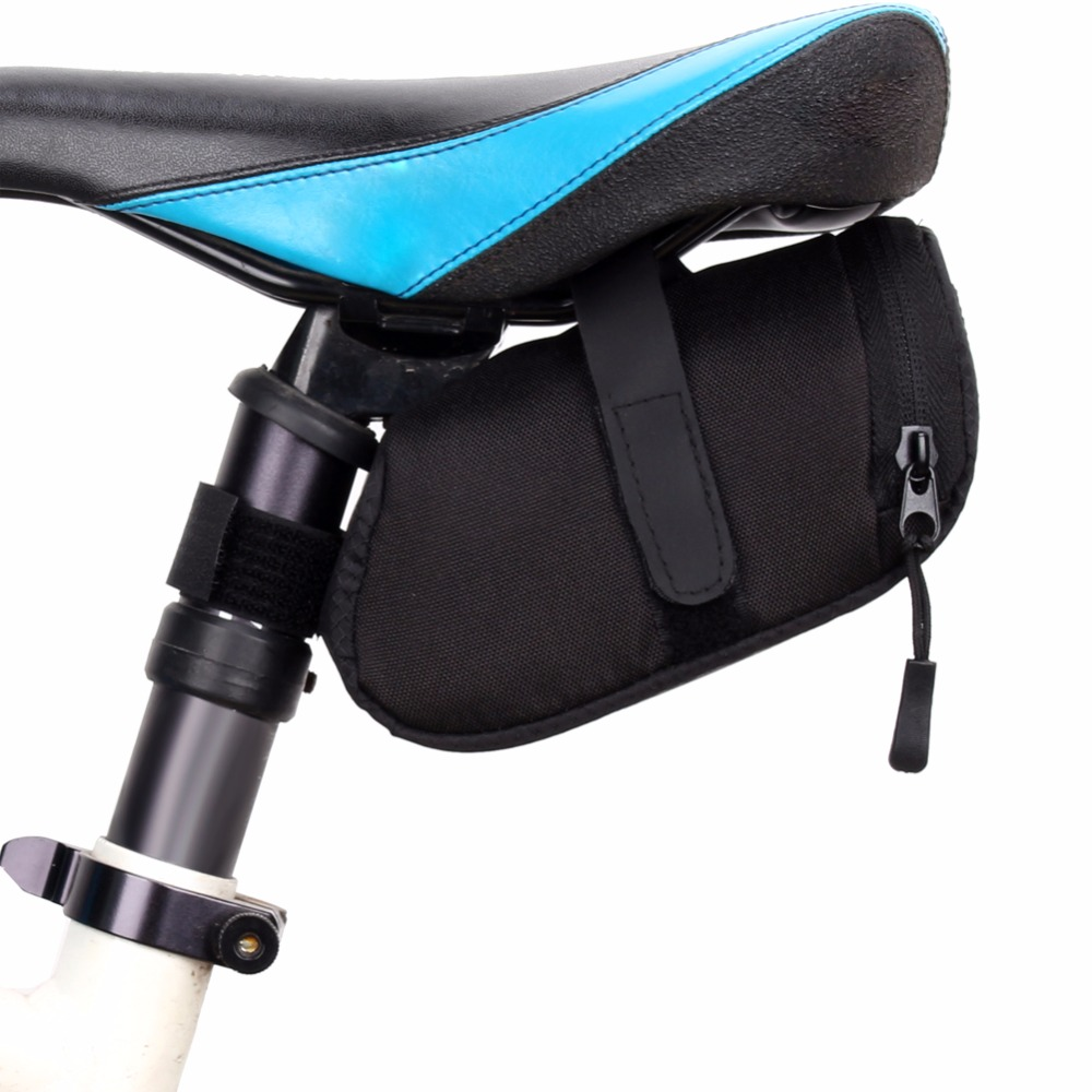 Outdoor Bike Seat Saddle Bag Bicycle Rear Storage Small Bag Tail Pouch