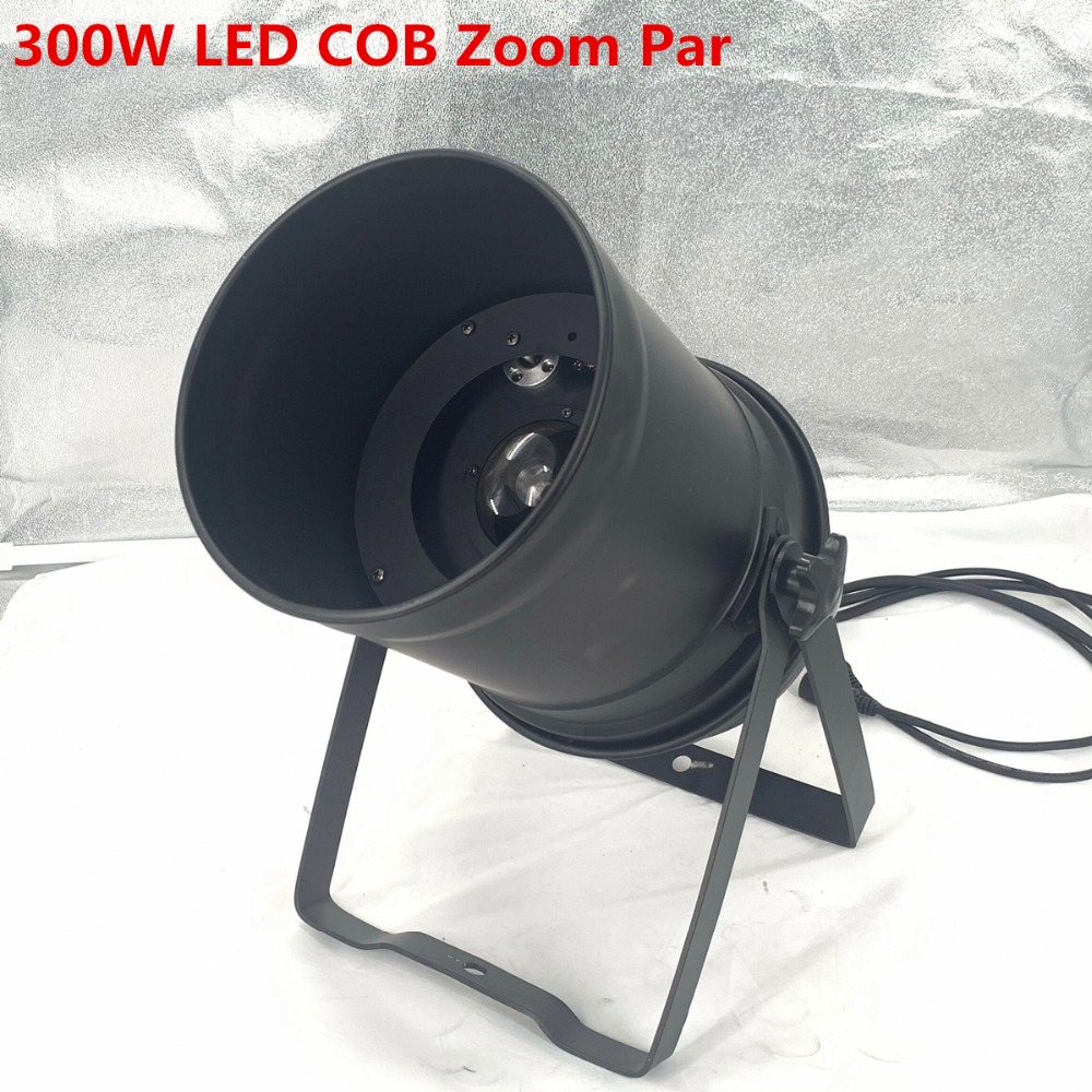 300W LED COB LED Par Light Zoom 5-50 Degree Disco Light Warm White 3200k Dj Beam Wash Dmx Stage Lighting