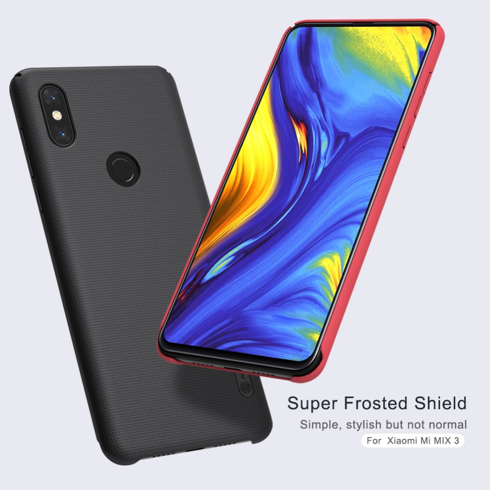 For xiaomi mi mix 3 case Nillkin frosted shield PC hard plastic back cover case for xiaomi mi CC9 Pro/mi note 10/10 Pro cover