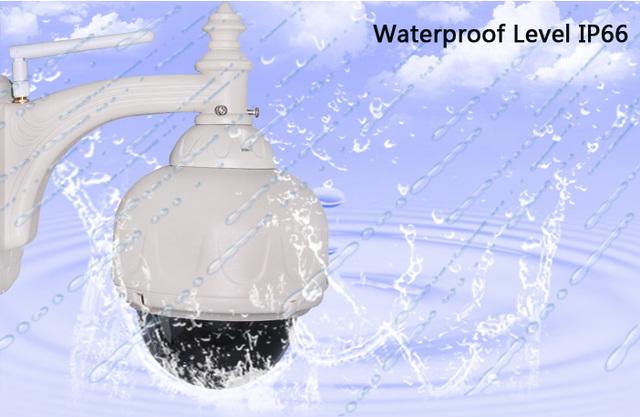 WANSCAM HW0028 5x de Zoom Óptico 2.8-12mm Lens Segurança CCTV Dome PTZ IR Cut Sem Fio Wifi Impermeável Ao Ar Livre Câmera IP Onvif