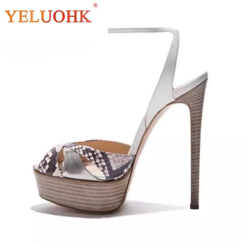 34-43 Sexy High Heel Sandals Women Big Size Platform Sandals Women High Quality Summer Women Sandals 14.5 CM мобильный телефон bq mobile bq 1810 pixel blue