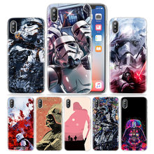 Star Wars Hot Case for iPhone XS Max XR X 10 7 7S 8 6 6S Plus 5S SE 5 4S 4 5C Luxury Clear Hard Plastic Phone Cover Coque Fundas(China)