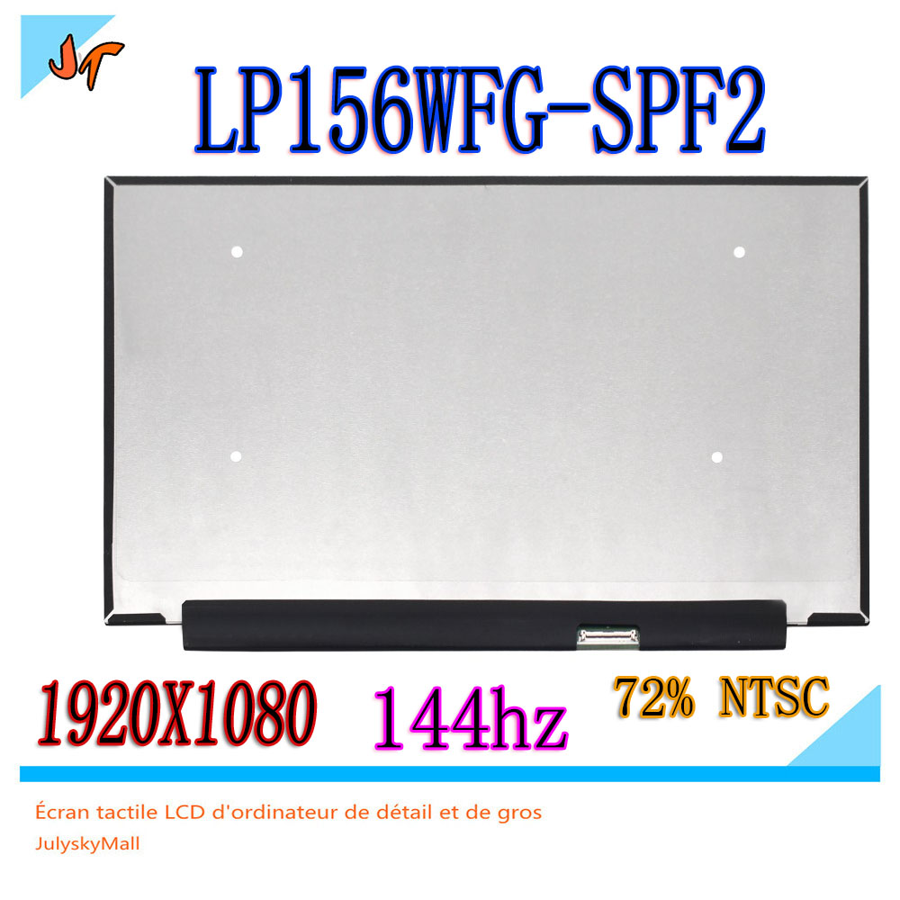 Original 144hz LCD screen 72 NTSC micro edge LP156WFG SPF2 LP156WFG SP F2 15 6 inch
