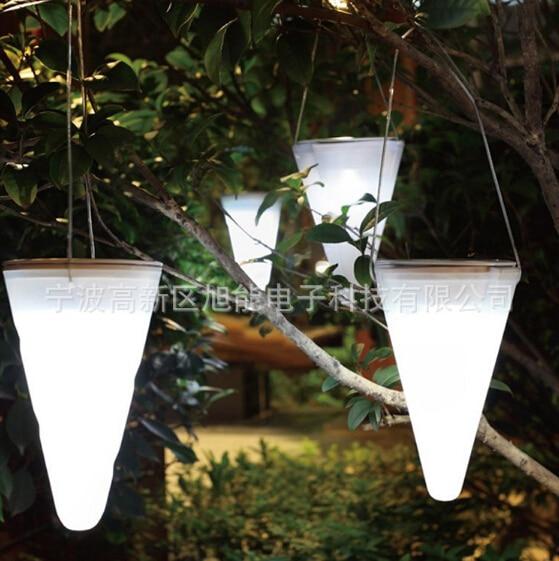 Garten dekoration beleuchtung zaun lichter Solar LED ...
