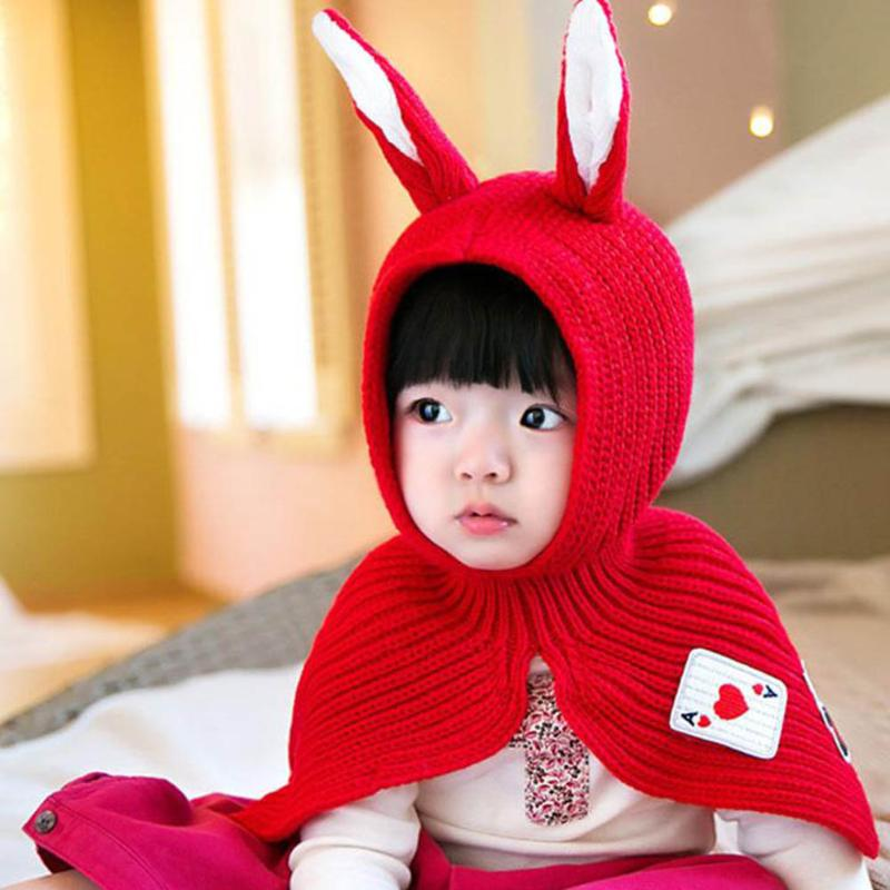 d9ce89a621a Wholesale Baby Hat Kids Long Rabbit Ears Knitted Hat Winter Warm Fleece  Solid Color Children Cap Fashion Toddler Boy Girl Bunny Beanie Cap Gallery  - Buy Low ...