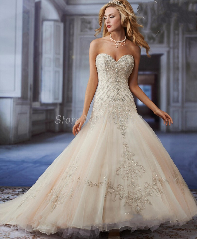 Champagne Bridal Gown Promotion-Shop for Promotional Champagne ...
