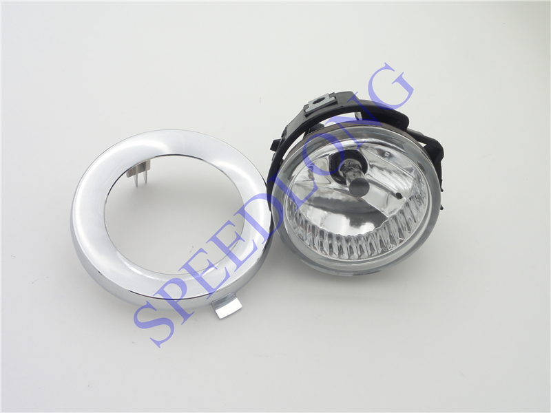 цена на 1 Set LH with bulb front fog light driving lamp w/bezel cover trim kits for Subaru Forester 2011-2013