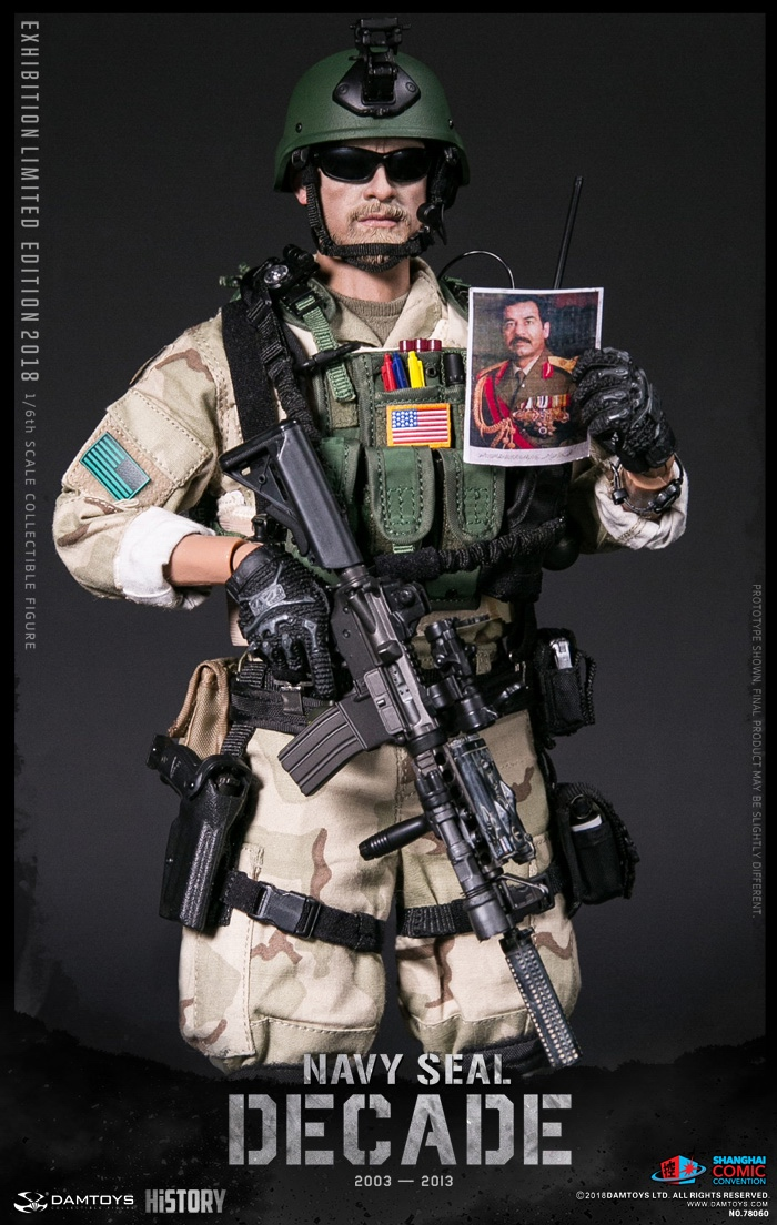 Navy SEAL Sawgunner Damtoys! 1//6 Scale Backpack Action Figures