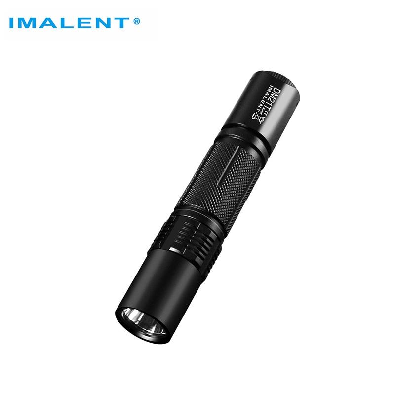 IMALENT DM21T Original Tactical Flashlight  1000 lumens Powerful Pocket Torch 268 Meters Flashlight CREE XPLHI Stepless Dimming