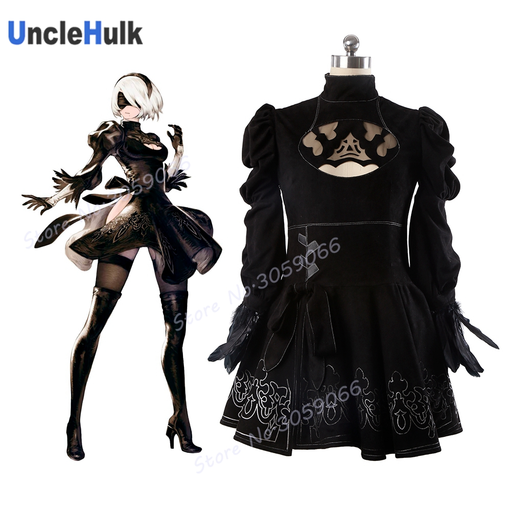 2017 Game NieRAutomata YoRHa No.2 Type S Costume  | UncleHulk