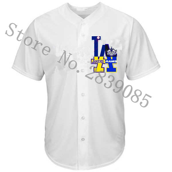 competitive price 8bca4 bca3c New Designs Summer Los Angeles Shirts, Stitched Custom LA ...