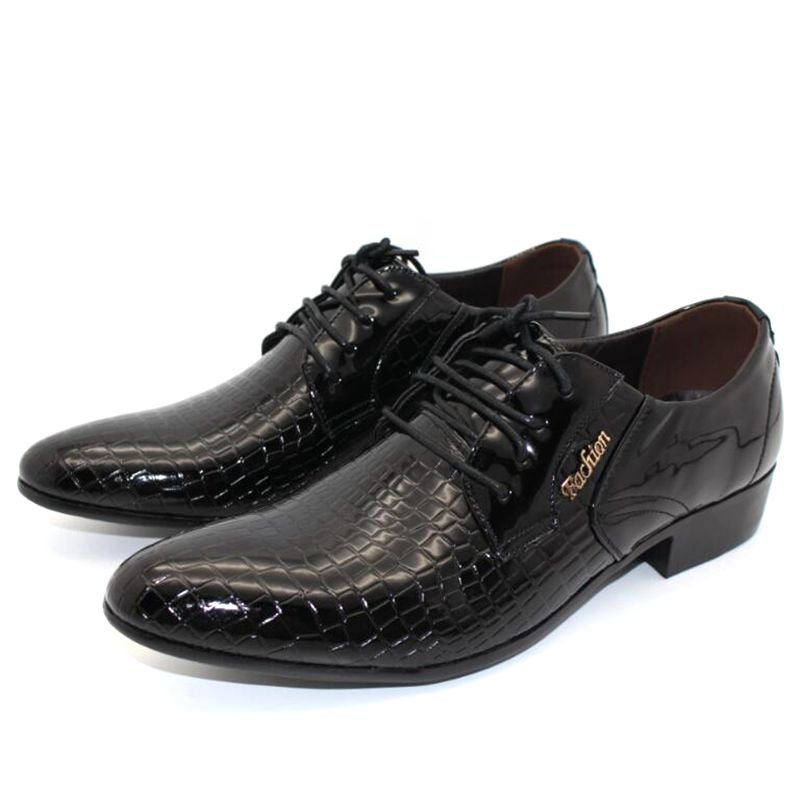 JOZIGBEMA New Classic Business Men Dress Shoes Fashion Style Man Leather  Shoes Social Sapato Male Oxfords For Men Wedding Shoe-in Formal Shoes from  Shoes on ... f000860c97fa
