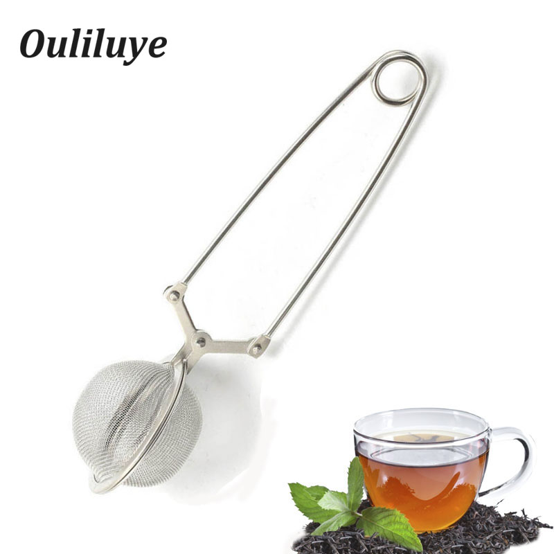 Tea Set 3PCS/1PCS Stainless Steel Strainers Strainer For Brewing Teas Household Office Teapot Filter Convenient Infuser Tea Leaf