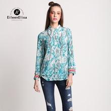 Women Novelty Blouses EE Luxury Women Shirts New Brand Blouses 2017 Women Brand Blouses Long Sleeve