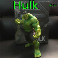 1 Pc 20 cm la figurine en Pvc Hulk jouet animé Marvel les Avengers Hulk afficher modèle Collection jouets anniversaire cadeau de noël