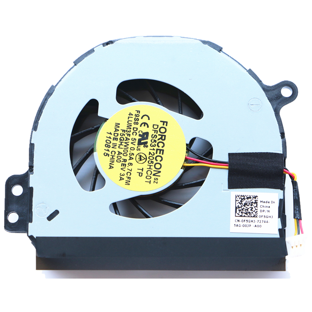 New Original For Dell Inspiron 1464 P09G 1564 P08F 1764 P07E N4010 Cpu Cooling Fan FORCECON DFS531205HC0T F9S8 CN-0F5GHJ new original 13 3 for dell inspiron 13