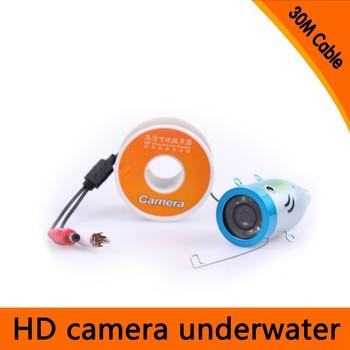 Super Mini 700TVL Underwater Camera With 8pcs White LED & 3.5 4