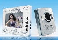 7 Cal ekran IR Night Vision wideo telefon drzwi|Wideodomofony|Bezpieczeństwo i ochrona -
