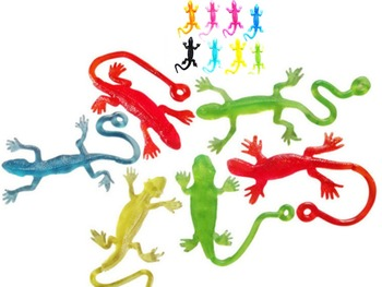 Novelty products toy Lizard animals slime Viscous Climbing one piece Action Figure funny gadgets PVC for kids Anyoutdoor