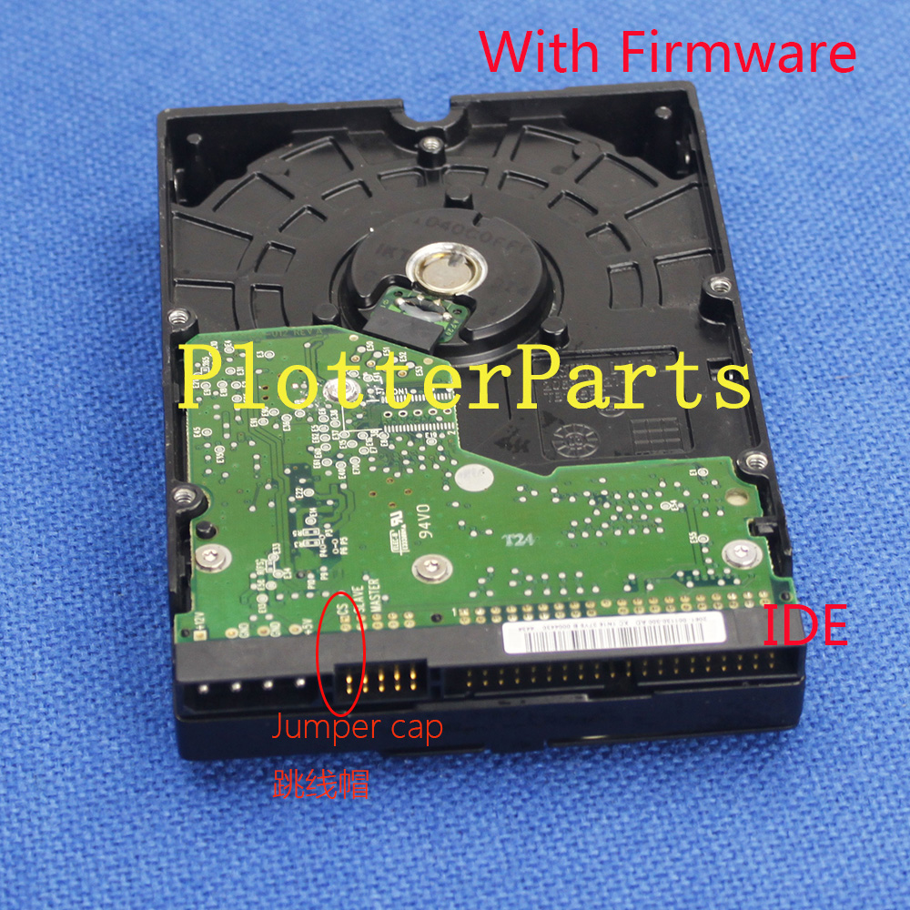 C6090-60344 Hard Drive HDD with Firmware for HP DJ 5000 5000UV Original used Plotter Part hdd hp j9f42a