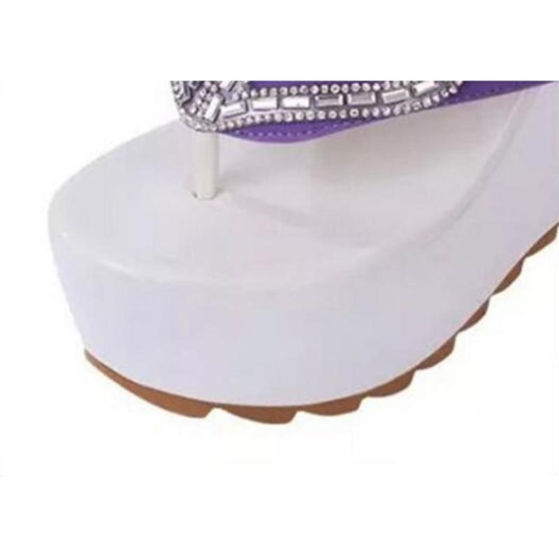 Sandales Flip Chaussures 3 Strass 4 Chaude forme Sandale S318 2 1 Chaussure Femmes Plate 2017 Femme 5 Flops Zw0EqIq