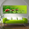3 Piece Flower Obrazy Canvas Olieverf Print Wall Paintings Oil Abstract Art Pictures Painting On Modern Picture Bedroom No Frame