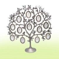 30*30cm Creative White Diamond Metal Tree Frame Fashion Personality Home Decoration Photo Frame Ornaments Picture Frames