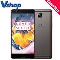 Oneplus 3 t a3010 4g lte teléfono móvil del androide 6.0 64 gb ram 6 gb ROM Snapdragon 821 Quad Core 1080 P 16MP Cámara de 5.5 pulgadas Del Teléfono Celular