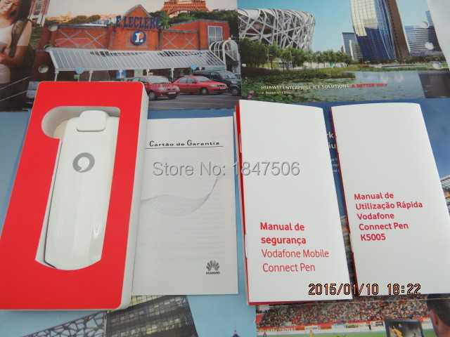 Free shipping HUAWEI K5005(Twins as Huawei E398) 4G LTE wireless USB Modem  100Mbps-in 3G Modem from Computer & Office