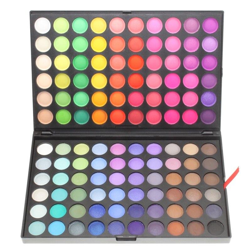 120 Color de sombra de ojos paleta de maquillaje de larga duración sombra de ojos impermeable belleza mate minerales cosméticos conjunto paleta de sombra de ojos 5 #