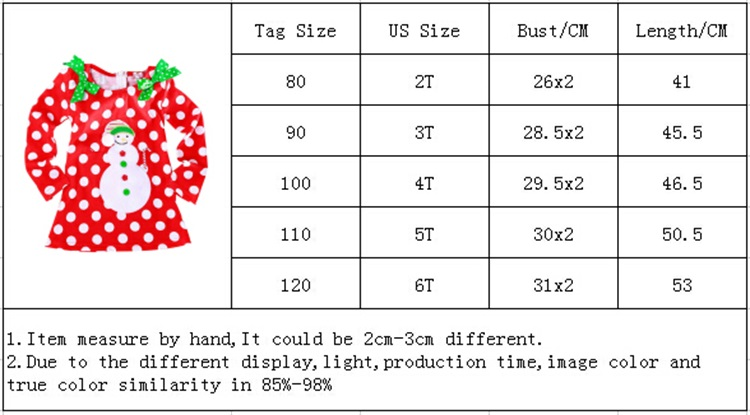 New Year Baby Girl Christmas Dress Girl's Merry Christmas Dress Children Kids Cotton Dot Dress Girls Tutu Santa Clus Costume