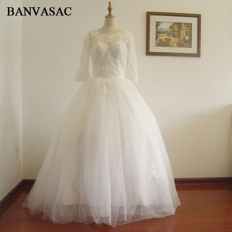 BANVASAC liberan el vestido de boda nupcial de la nueva llegada 2017, vestido de boda W0199