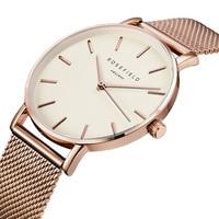 Golden Famous Brand Quartz Watch Women Watches Ladies 2016 Female Clock Wrist Watch Quartz Watch Montre
