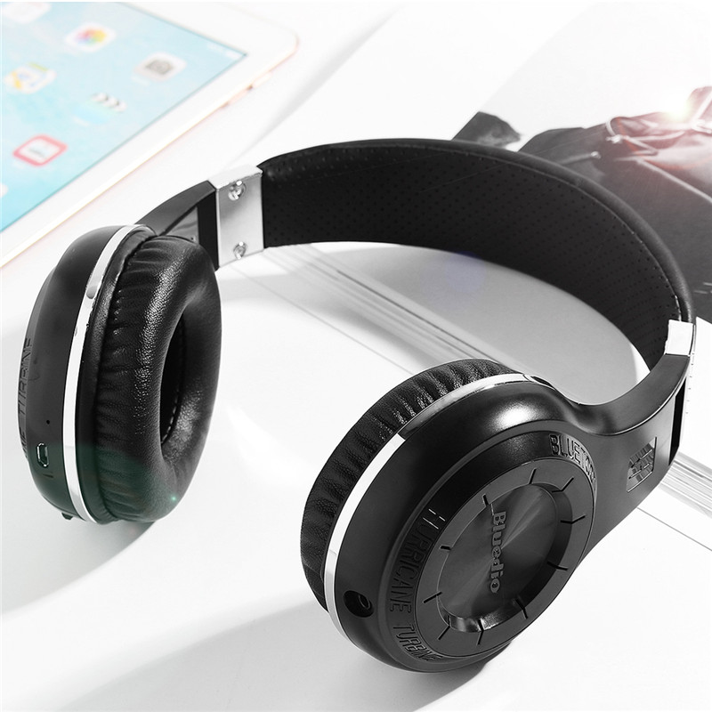 Active Noise Cancelling Bluetooth 4.1 Headphones Over Ear Stereo Earphones 3.5mm Cancelling Wireless Headset For phones music