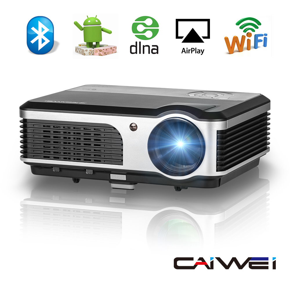 Caiwei Digital Led Projector Home Theater Beamer Lcd: Aliexpress.com : Buy CAIWEI Bluetooth Wireless WIFI LCD