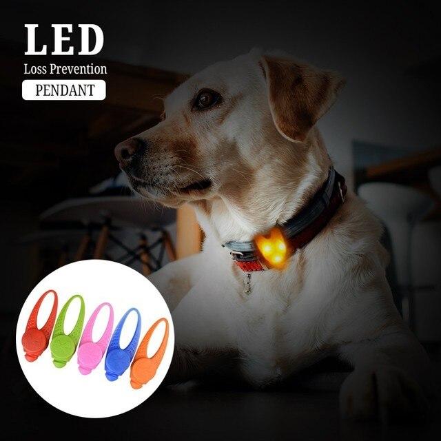 1 pz Pet A Sospensione A LED 3 Modalità di Sicurezza Lampeggiante Glow Light Imp