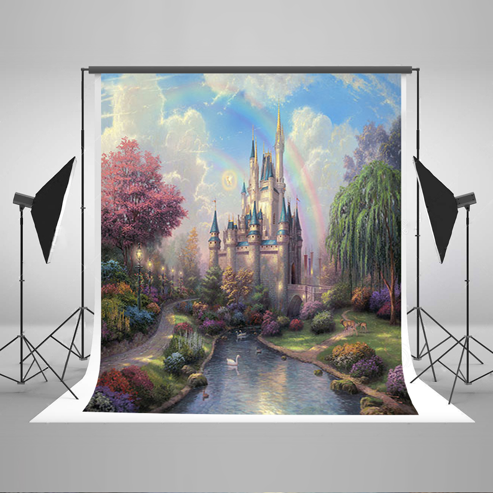 Kate 300x600cm Photography Background Castle Photography Baby Backdrops Castle Creek Cartoon Background Newborn Photograph сумка kate spade new york wkru2816 kate spade hanna
