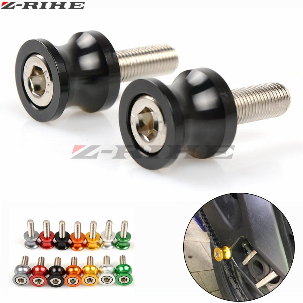 For honda CNC Aluminum Motorcycle parts Swingarm Sliders Spools For honda CBR 1000 RR 1000RR CBR1000RR Cbr 600 yzf r3 F2 F3 mf2300 f2